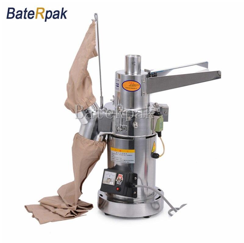 DLF18 BateRpak bylinné drtiče s kontinuálním podáváním mlýnů, ultrajemný práškový stroj, mlýnek na zrno, bylinné mlýny