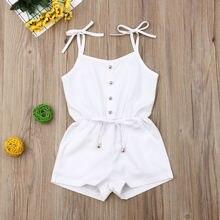 Emmababy летняя одежда для новорожденных девочек однотонный