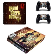 Grand theft Auto 5 Skin Sticker For PS4 Playstation 4 Console Controllers Vinyl Decal