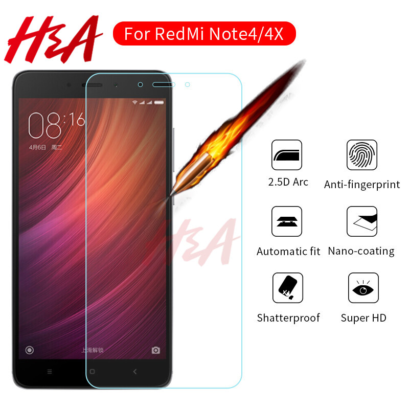 Tempered-Glass Global-Version Xiaomi Redmi Screen-Protector 4x-Protective-Glass-Film