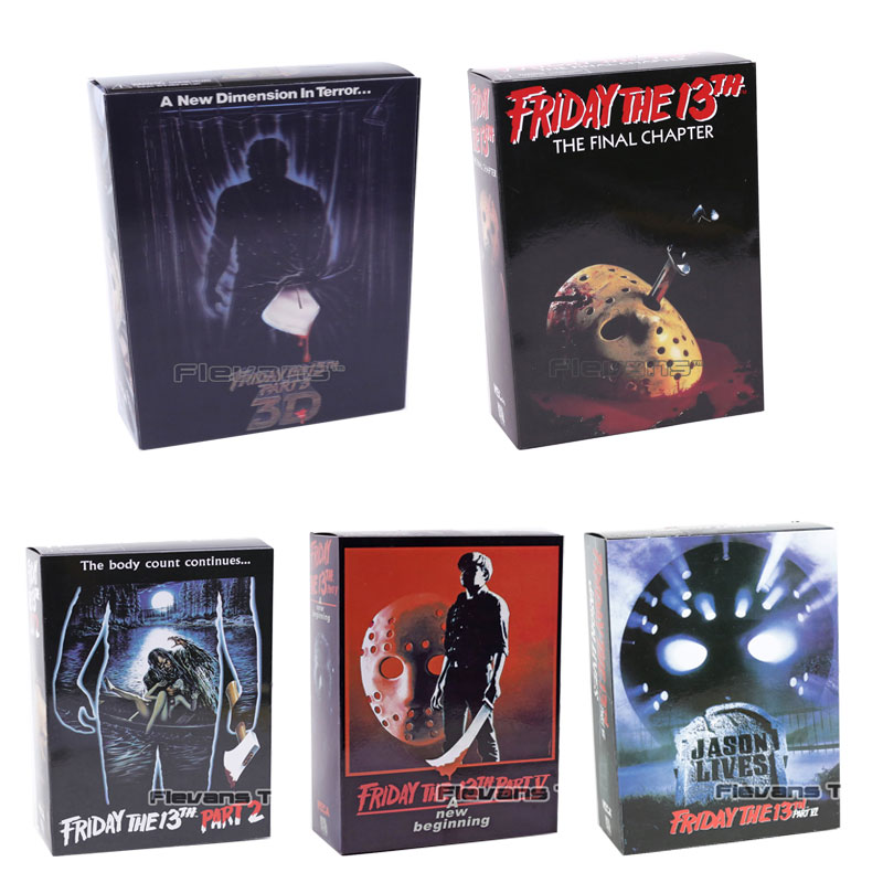 NECA Friday the 13th Jason Voorhees 7 PVC Action Figure Collectible Model ToyNECA Friday the 13th Jason Voorhees 7 PVC Action Figure Collectible Model Toy