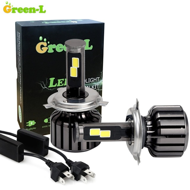 Green-L 90W 9000LM COB Auto Car Led Headlight D2S H1 H3 H7 H11 H13 H27 880 9004 HB1 9005 HB3 9006 HB4 9007 HB5 H4 9003 HB2 Lamps