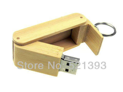 Free shipping!Guaranteed quality folding design Wooden USB Mass storage 2G/4G/8G/16G memory stick wholesales 10pcs/lot