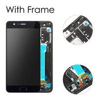Sinbeda 5.5 LCD For XIAOMI Mi Note3 LCD Display Touch Screen Frame Replacement For XIAOMI Mi Note 3 Display Fingerprint Sensor