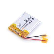3.7v lithium ion rechargeable battery 352530 260mah MP3 MP4 Bluetooth small stereo