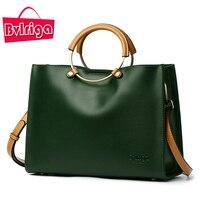 BVLRIGA Famous Brands Genuine Leather Bag Female Shoulder Bag Crossbody Messenger Bag 2017 Luxury Handbags Women