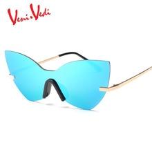 H Nueva mariposa retro frame sunglasses mujer Metal de la membrana de color gafas de sol gafas de sol gafas mujeres