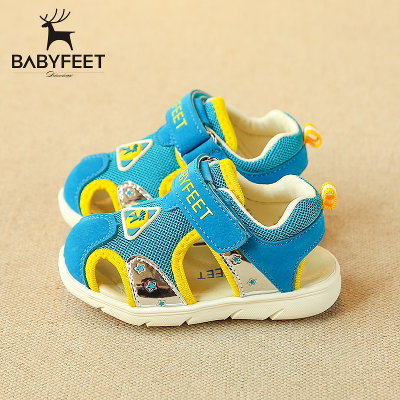 Babyfeet summer Baby Toddler shoes anti slip children's shoes Boy sandals Girl 0-3 years old kids toddle child infant infantile babyfeet summer cool toddler shoes 0 2 year old newborn baby girl