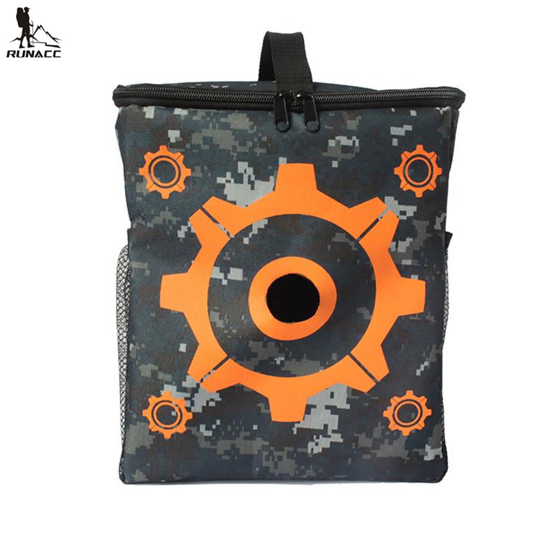 RUNACC Target Pouch Multi-functional Storage Carry Target Equipment Bag Target Bag for Nerf N-strike Elite Mega and Rival Series ...