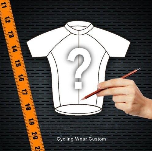 Personnalisé Pro équipe cyclisme Jersey bricolage vélo respirant vêtements courts + LyCra n'importe quelle couleur n'importe quelle taille n'importe quel Design livraison gratuite