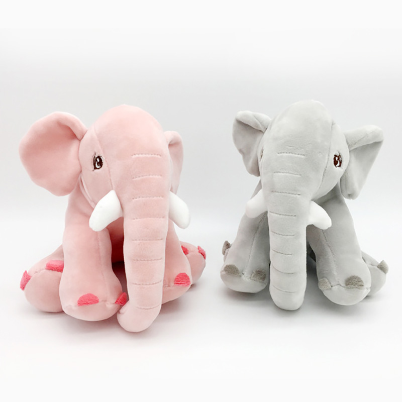 20 Cm Elephant Plush Animals Doll Toys Soft Stuffed Pillow Newborn Cushion Doll Bedding For Adults Kids Toys