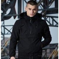 Hooded Jackets Men Windbreaker Waterproof Jackets Men Russian Male Jacket Thin Zipper Pullover Coats Men outwear Spring Autumn