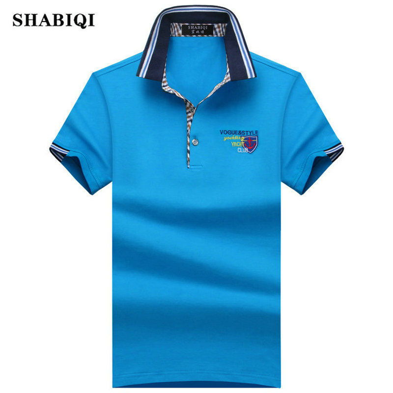 Plus Size! S-10XL 2019 Summer Fashion Brand Men's shirt Men   Polo   Shirt Summer Short Sleeve   Polos   Shirt T Designer   Polo   Shirt