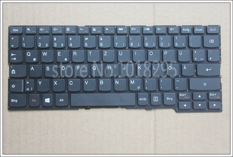 New  GR  Laptop keyboard for Lenovo Yoga 2 11  German  keyboard No frame new gr laptop keyboard with frame for samsung 355v5c 350v5c 355 v5x german keyboard
