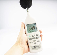 TES 52A Sound absorption machine with Digital Sound Level Meter 26dB to 130dB
