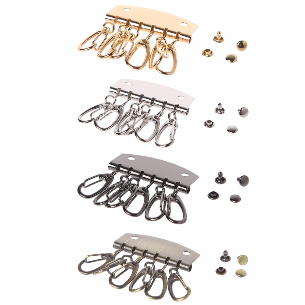 THINKTHENDO DIY Lobster Clasps Clips Bag Key Ring Hook Keychain Purse Wallet Accessories Portable Hot New