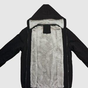 Image 4 - חורף פנטגרם גותי סמוי שטן גברים של אופנה נים איש היפ הופ Hoody מעיל חולצות Harajuku Streetwear