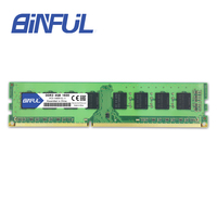 BINFUL DDR3 4GB 1600MHz Memory Ram Desktop PC3 12800 DIMM 1.5V Compatible with all motherboards