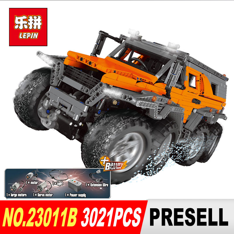 NEW LEPIN 23011 Technic series 2816Pcs Off-road vehicle Model Building Blocks Bricks kits Compatible 5360 to children gifts free shipping lepin 21002 technic series mini cooper model building kits blocks bricks toys compatible with10242