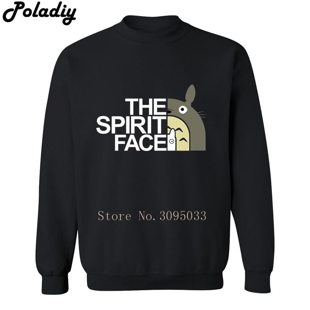 2018 hoodies men sweatshirt sweat new hip hop streetwear jerseyes tracksuit THE spirit face Mens my neighbor totoro Sweatshirts