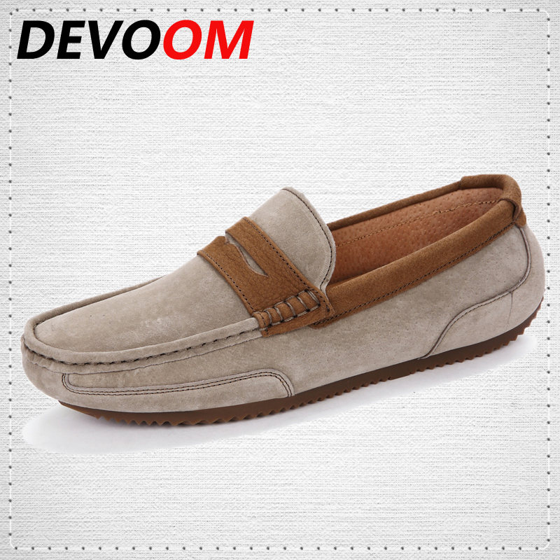 DEVOOM High Quality Genuine Leather Shoes Soft Moccasins Men Loafers Gommino Driving Shoes Brand Fashion Mens Slip-on Boat Flats dxkzmcm new men flats cow genuine leather slip on casual shoes men loafers moccasins sapatos men oxfords