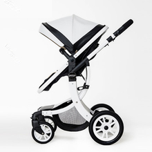 2017 High Quality Luxury Landscape stroller four-wheel drive and a place to lie baby stroller buggy stroller infant stroller