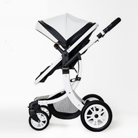 2017 High Quality Luxury Landscape stroller four wheel drive and a place to lie baby stroller buggy stroller infant stroller