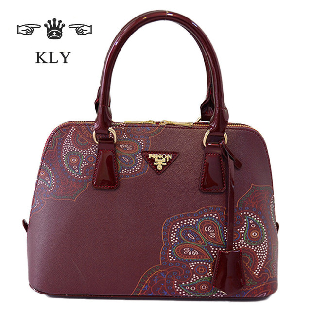 Luxury Famous Brand High Quality Pu Leather Handbags