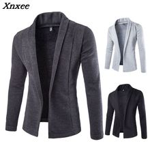 Sweater Men  Brand  Concise V-Neck Sweater Coat Cardigan Male Solid Color Slim  Mens Cardigan Sweater Coat Man Cardigan Men