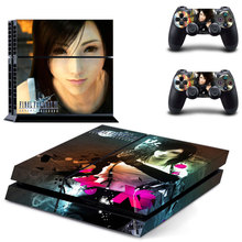 Final Fantasy Vinyl Skin Sticker Cover for Sony PS4 PlayStation 4 and 2 controller skins
