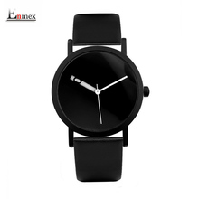 2017 Enmex creative design  wristwatch waterproof special Changeable number hour hand simple design  fashion quartz watches