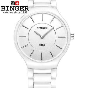 Image 3 - 스위스 럭셔리 브랜드 남성 손목 시계 Binger 공간 세라믹 쿼츠 남자 시계 연인 스타일 방수 시계 B8006B 5