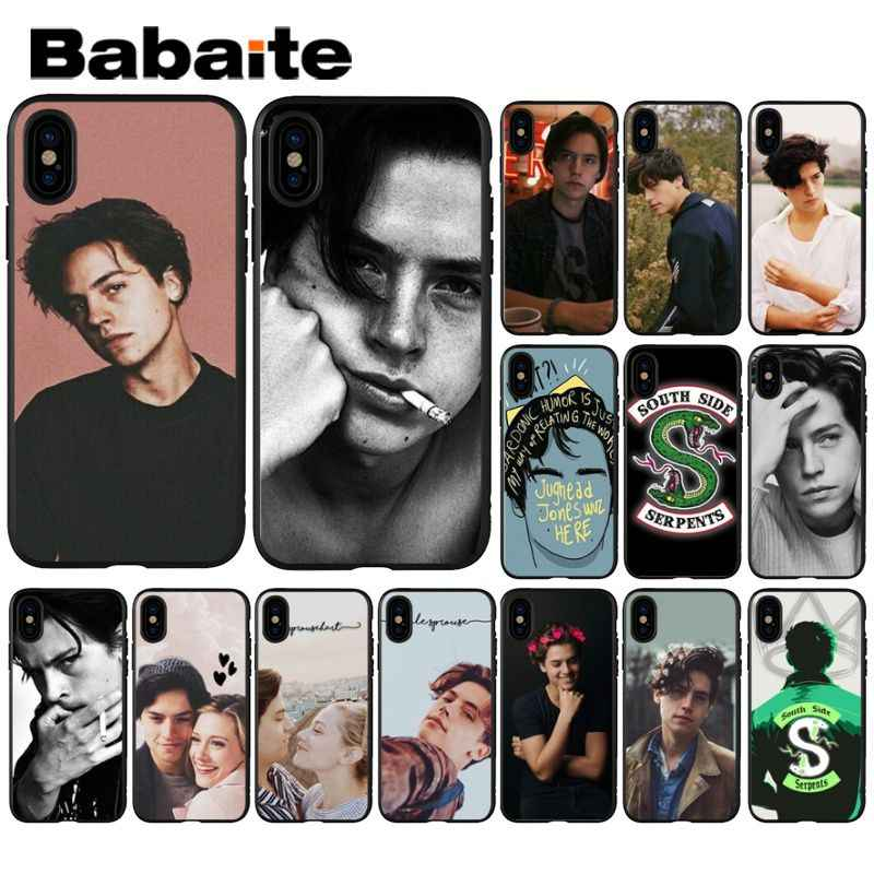 Babaite American TV Riverdale Jughead Jones Cell Coque Shell Phone Case for Apple iPhone 8 7 6 6S Plus X XS MAX 5 5S SE XR Cover