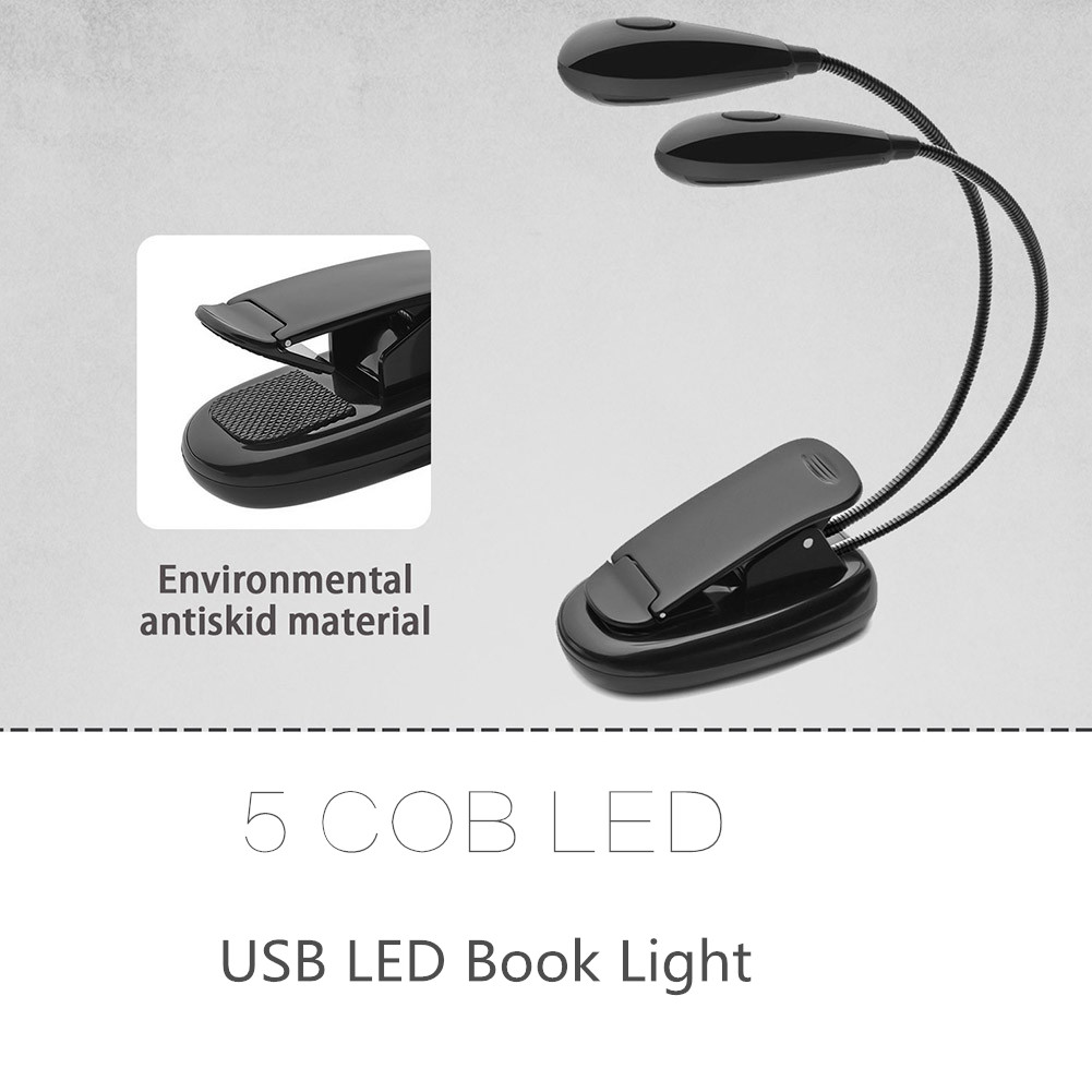 все цены на Mini Flexible Bright Clip Book Reading Light Booklight 2 Led Ebook Reader Reading Camping Hiking Lamp Bulb Flashlight онлайн
