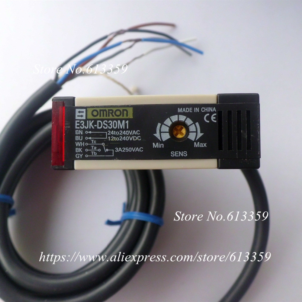 hight resolution of e3jk ds30m1 omron ac dc 5 wire diffuse reflection photoelectric switch sensors new good quality in sensors from electronic components supplies on