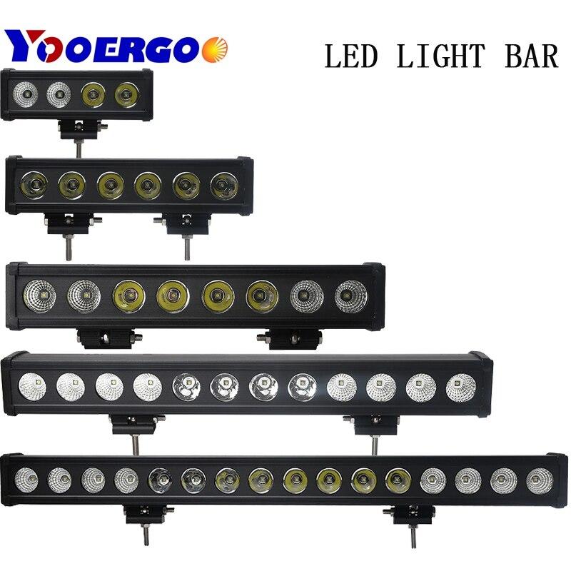 цена на 10W/Pcs Led Light Bar Car External Light 12V Led Bar Offroad 4x4 SUV ATV Truck Tractor Spotlight Led Work Driving Lights