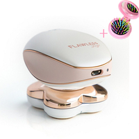 Safety Electric Shaver Female Rechargeable Face Body Hair Remover Epilator Four Head Women cleaning Machine for Shaving razors