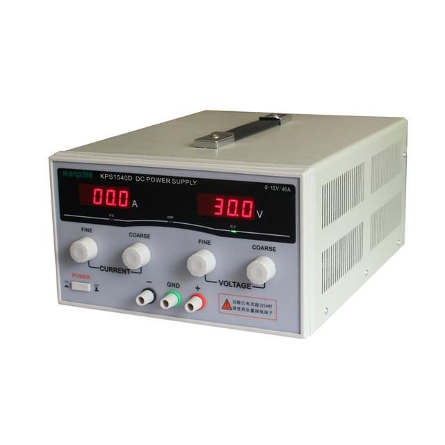 KPS1540D High precision Adjustable LED Dual Display Switching DC power supply 220V EU 15V/40A