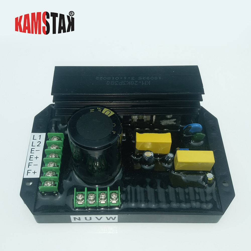 AVR Japanese Kama \ Cape generator KM20K3P380 automatic regulator regulator plate