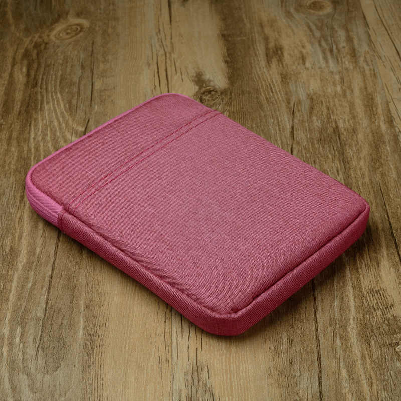 "Funda de tableta a prueba de golpes de 6 ""para Amazon Kindle Paperwhite 1 2 3 4 Funda para Kindle 8 cubierta de viaje para Kobo 6 pulgadas E-book bolsa"