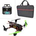 Controlador de Vuelo + MT16-S CC3D 2300KV Motor + Simonk ESC 12A + FlySky FS-I6 para FPV + QAV 250 RTF Marco Quadcopter