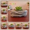 Decorativo vaso de flores Criativo moderno moderno criativo estilo forma de Pedra vaso de cimento vasos de flores para decoração de casa