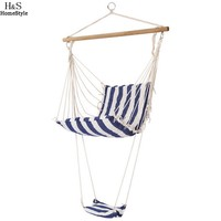 Homdox Leisure Swing Hammock Hanging Chair Outdoor Garden Patio Yard N50