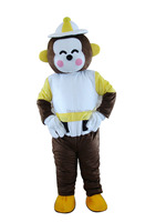 2016 Venta caliente Lucky Monkey traje de la mascota del animal de mar traje de la mascota disfraces