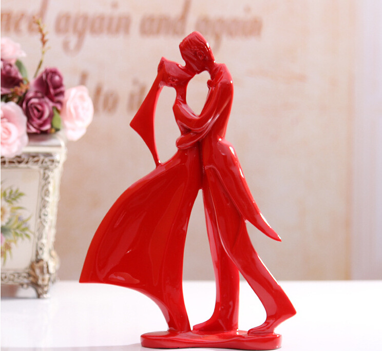 Home decoration and furnishing articles couple characters home decoration and furnishing articles couple characters marriage room decorations the wedding gift in figurines miniatures from home garden on negle Gallery