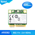 Atheros AR9832 AR5BHB116 banda Dual a 300 Mbps Wifi 802.11 a/b/g/n Wireless Media Mini PCI-E Adaptador de tarjeta de 2.4 Ghz 5 Ghz Wlan Notebook