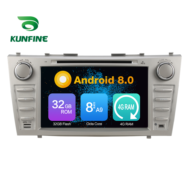 Octa Core 4GB RAM Android 8.0 Car DVD GPS Navigation Multimedia Player Car Stereo for TOYOTA CAMRY 2007-2010 Radio Headunit WIFI