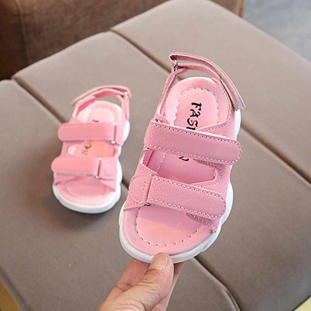ARLONEET2019 เด็กรองเท้าแตะฤดูร้อนเด็กทารกเด็กสาวกีฬาชายหาดรองเท้าแตะลำลองรองเท้า sandalia infantil