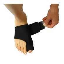 1 par do dedo do pé straightener corrector cinta almofada para hallux valgus alívio da dor união splint guarda toe separador suporta