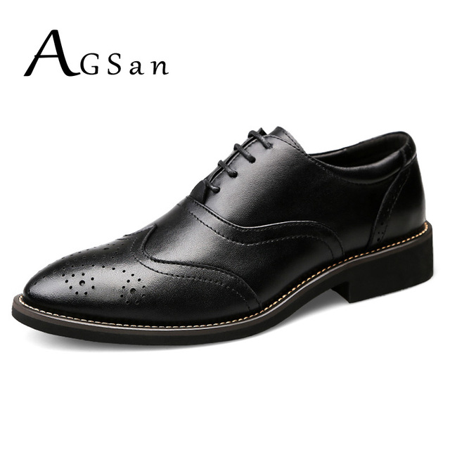 Business Formal Leather Shoes - Black 45 wide range of popular cheap price buy cheap reliable discount high quality sZTyBy
